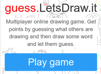 Try guess.letsdraw.it